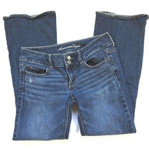 American Eagle Jeans Women Size 4 Short Artist Str